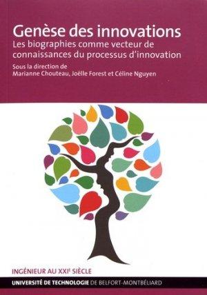 Genèse des innovations - utbm - 9791091901277 -