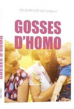 Gosses d'homos - Max Milo Editions - 9782315009657 -