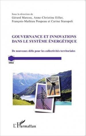 Gouvernance et innovations dans le système énergétique - l'harmattan - 9782343073521 -