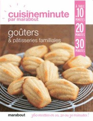 Goûters & pâtisseries familiales - Marabout - 9782501084246 -