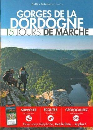 Gorges de la Dordogne : 15 jours de marche - dakota - 9782846404778 -