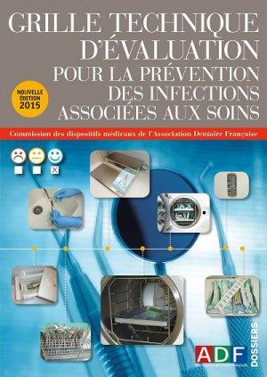 Grille Technique d'Evaluation pour la prévention des infections associées aux soins - association dentaire francaise - adf - 2224836305711 -