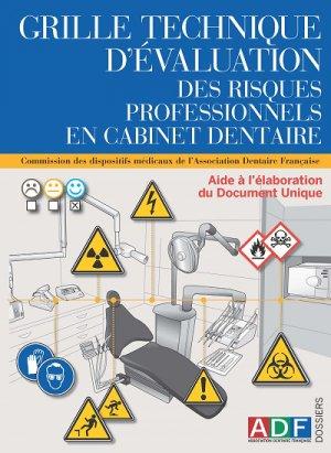 Grille technique des risques professionnels en cabinet dentaire - association dentaire francaise - adf - 2224836306589 -