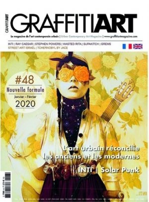 Graffiti Art N° 48, janvier-février 2020 : L'art urbain réconcilie les anciens et les modernes - Graffiti art - 3663322106712 - kanji, kanjis, diko, dictionnaire japonais, petit fujy