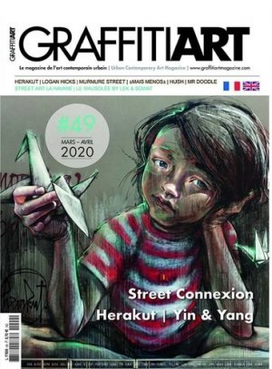 Graffiti Art N° 49, février-mars 2020 - Graffiti Art - 3663322108570 -