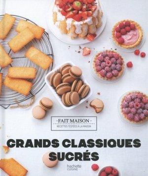 Grands classiques sucrés - hachette - 9782017089346 -
