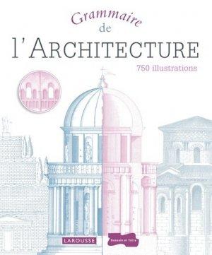 Grammaire de l'architecture - larousse - 9782035858009 -
