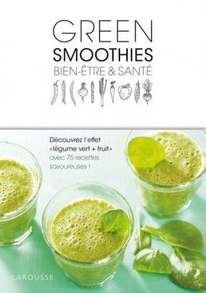 Green smoothies - larousse - 9782035924834 -