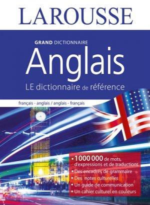 Grand dictionnaire d'anglais - Larousse - 9782035935137 -