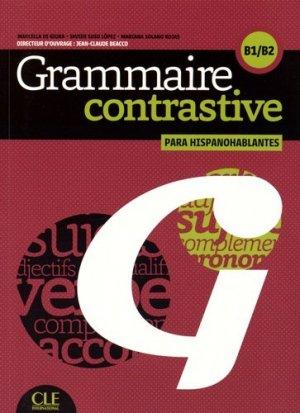 Grammaire contrastive para hispanohablantes B1/B2 - Nathan - 9782090380231 -