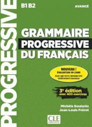 Grammaire Progressive du Français - Avancé 3ED - cle international - 9782090381979 -