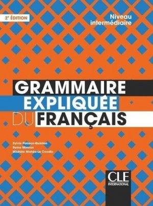 Grammaire expliquée du français - CLE International - 9782090389876 -