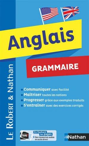 Anglais Grammaire - Nathan - 9782091520100 -