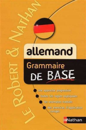 Grammaire de base - Allemand - Nathan - 9782091882994 -