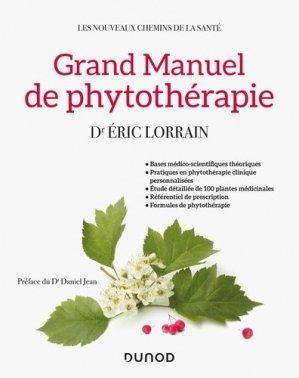 Grand manuel de phytothérapie - dunod - 9782100781560 -