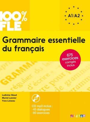 Grammaire Essentielle du Français A1 - A2 - didier - 9782278081028 -