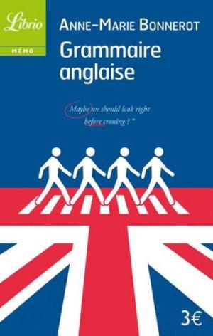 Grammaire anglaise - librio - 9782290093030 -