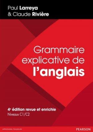 GRAMMAIRE EXPLICATIVE ANGLAIS 4ED  - PEARSON - 9782326000704 -