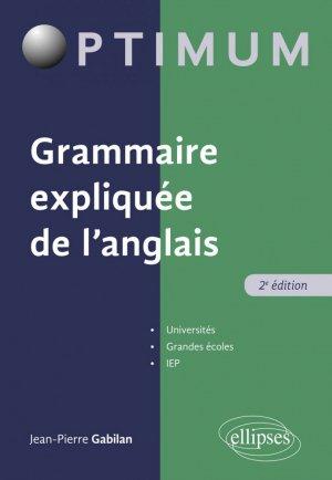 Grammaire expliquée de l'anglais - ellipses - 9782340035430 -