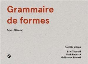 Grammaire de formes - filigranes editions - 9782350465272 -