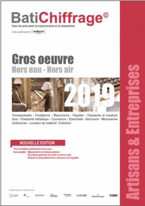 Gros oeuvre Hors eau - Hors air  2019 - batichiffrage - 9782358061087 -