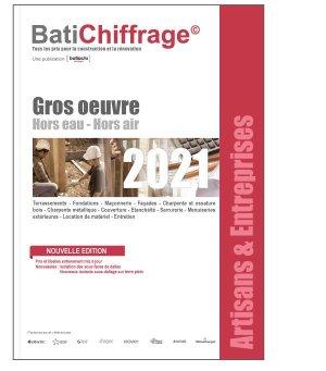 Gros oeuvre 2021 - batichiffrage - 9782358061261 -