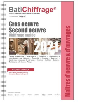 Gros oeuvre - Second oeuvre 2021 - batichiffrage - 9782358061322 -