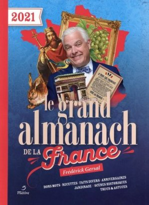 Grand almanach de la France 2021 - Editions Métive - 9782371090927 -