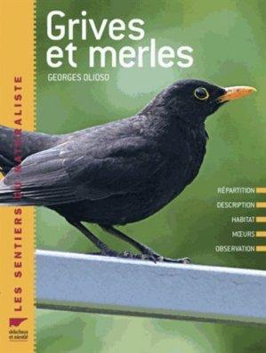 Grives et merles - delachaux et niestle - 9782603016527 -