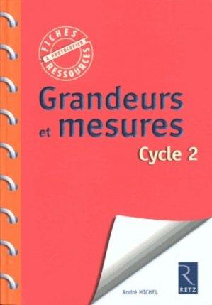 Grandeurs et mesures cycle 2 - Retz - 9782725631370 -