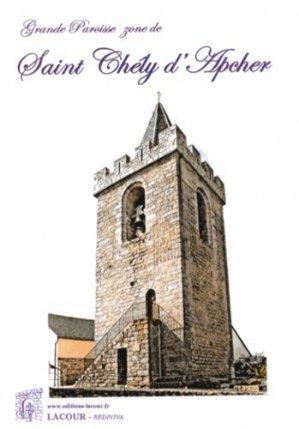 Grande paroisse zone de Saint Chély d'Apcher - lacour - 9782750431402 -