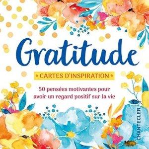 Gratitude - Chantecler - 9782803461851 -