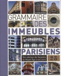 Grammaire des immeubles parisiens - parigramme - 9782840967965 -