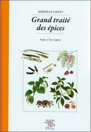 Grand traité des épices - le sureau - 9782911328640 -
