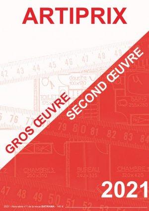 Gros Oeuvre - Second Oeuvre 2021 - batirama - 9782956619239 -