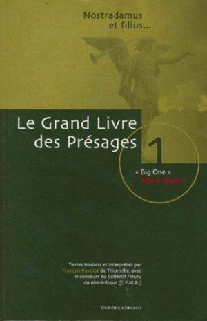 GRAND LIVRE DES PRESAGES. - Norlaris - 9782980277160 -