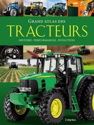 Grand atlas des tracteurs - de l'imprevu - 9791029507151 -