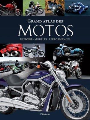Grand atlas des motos - de l'imprevu - 9791029508547 -