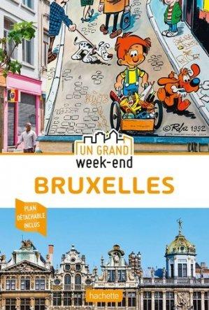Guide Un Grand Week-End à Bruxelles 2020 - hachette - 9782017063681 -