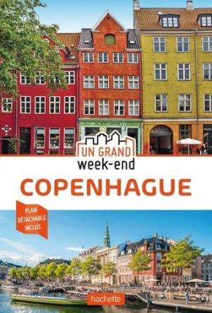 Guide Un Grand Week-End à Copenhague - hachette - 9782017063698 -
