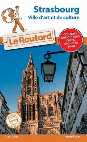 Guide du Routard Strasbourg - hachette - 9782017067672 -