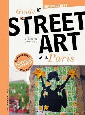 Guide du street art à Paris - gallimard - 9782072875960 -