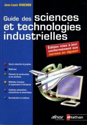 Guide des sciences et technologies industrielles - Nathan - 9782091610375 -