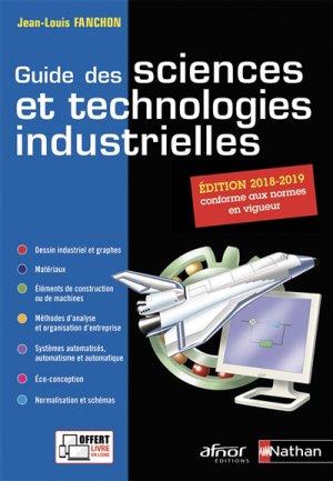 Guide des sciences et technologies industrielles - nathan / afnor - 9782091650289