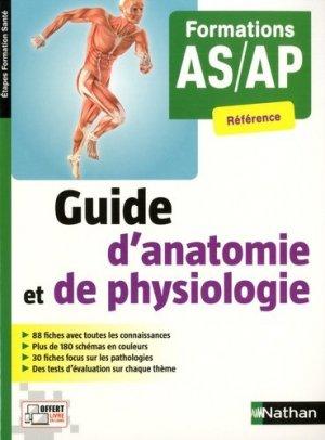 Guide d'anatomie et de physiologie - nathan - 9782091652368