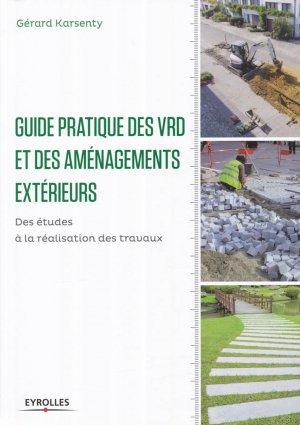 Guide pratique des VRD et aménagements extérieurs - eyrolles - 9782212142839 -
