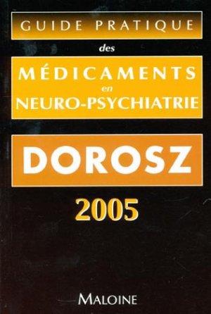Guide pratique des médicaments en neuro-psychiatrie - maloine - 9782224029104 -