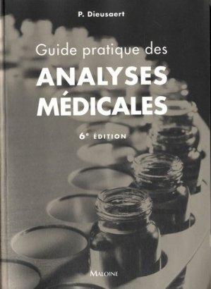 Guide pratique analyses médicales - maloine - 9782224034030 -