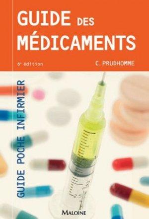 Guide des médicaments - maloine - 9782224034931
