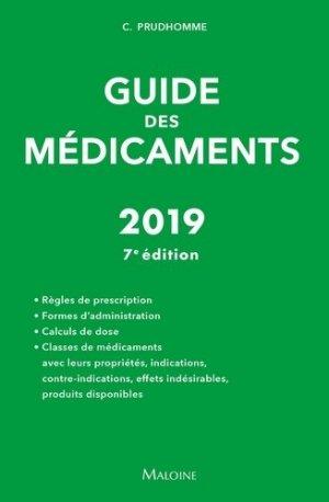Guide des médicaments 2019 - maloine - 9782224035716 -